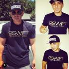 Image of 2SP BLACK SHIRT W/ SHINY GOLD LETTERING